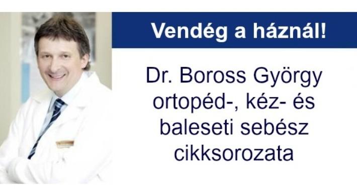 Dr. Boross György: A gyógycipő is segíthet – bütyökről és kalapácsujjról