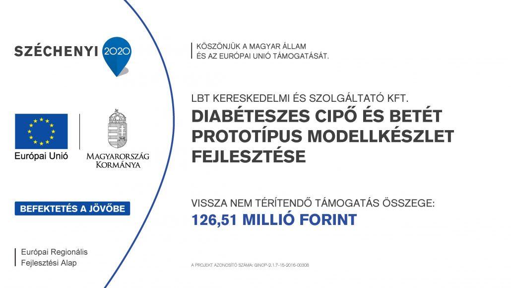 Diabéteszes cipő és betét prototípus modellkészlet fejlesztése