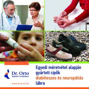 Egyedi gyártású diabéteszes cipők