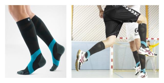 Miért viselnek a profi sportolók kompressziós zoknit?